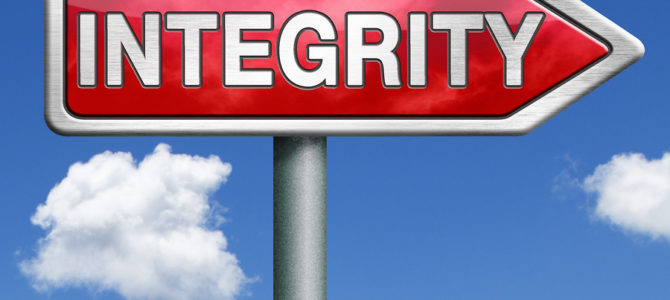 Integrity: Your Work Isn't Done Yet
