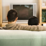 Couple Watching Tv.