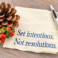 Intentions versus Resolutions